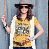 Strong Like A Girl Graphic Tees