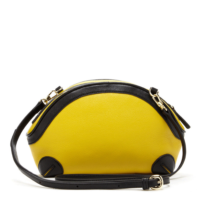 Black and Yellow Purse