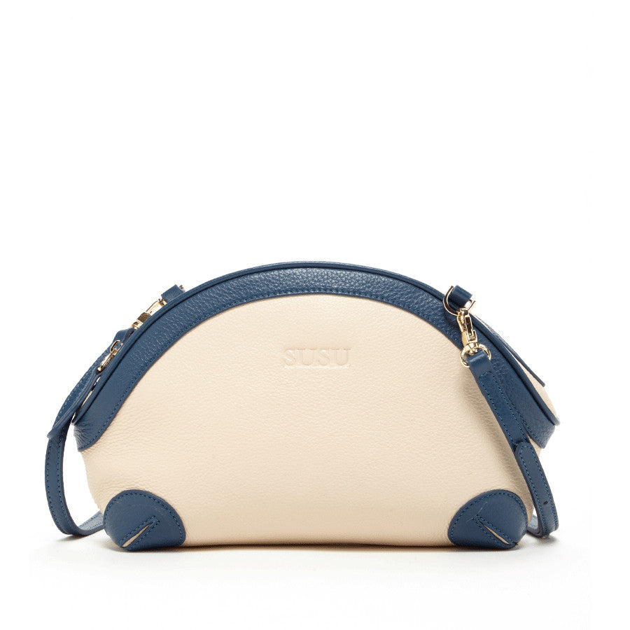 Blue and Ivory Purse