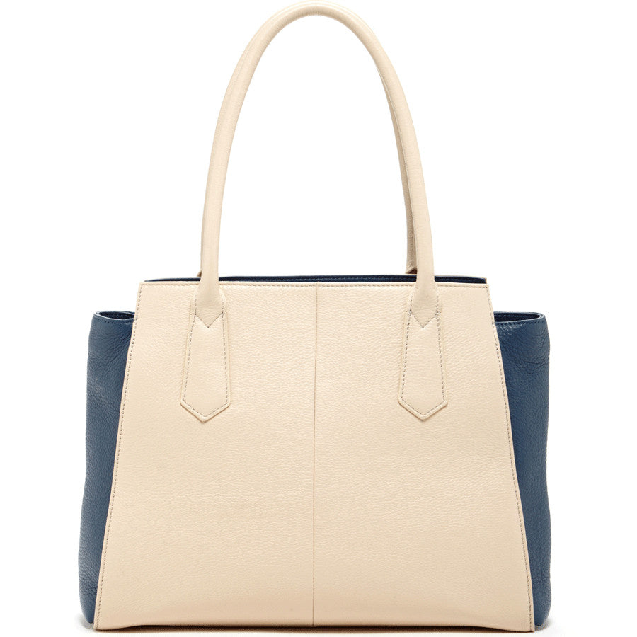 White leather tote l SUSU Handbags