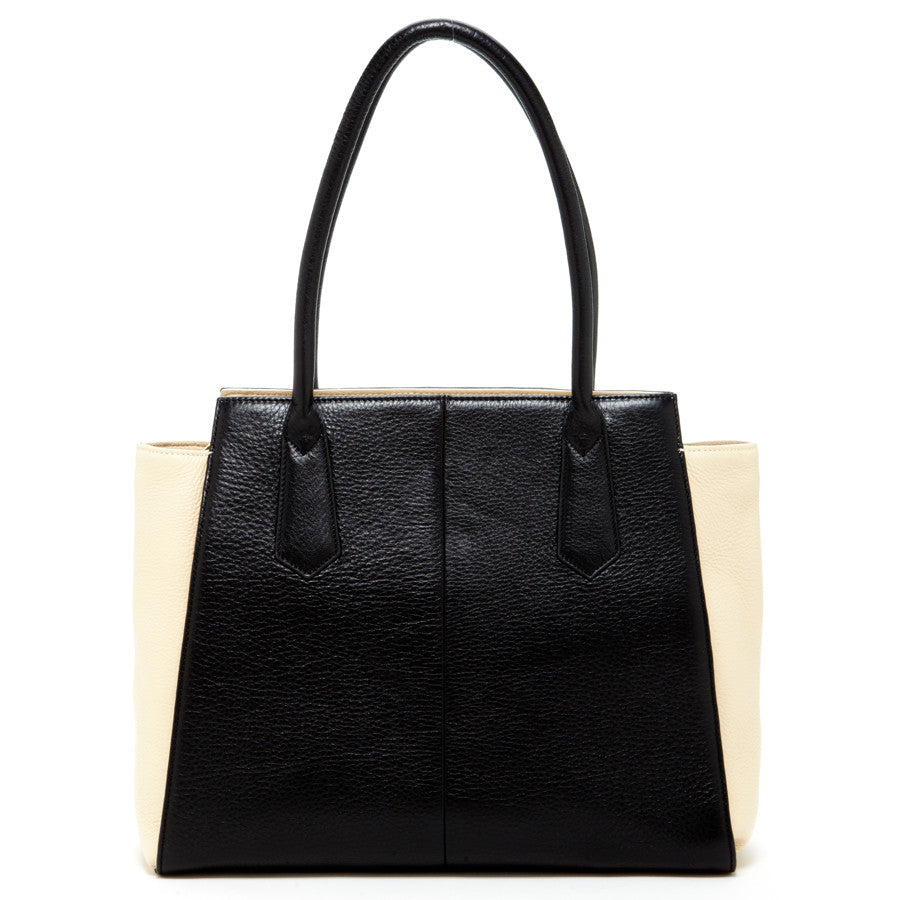 Black leather purse l SUSU Handbags