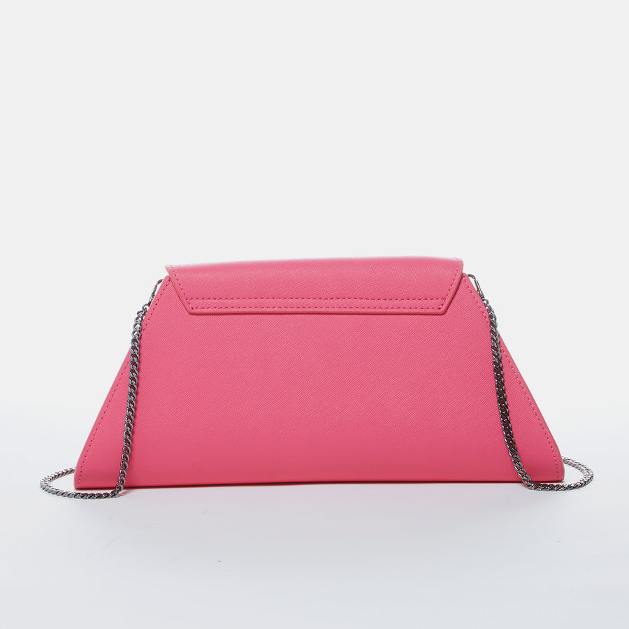 Hot Pink Chain Purse