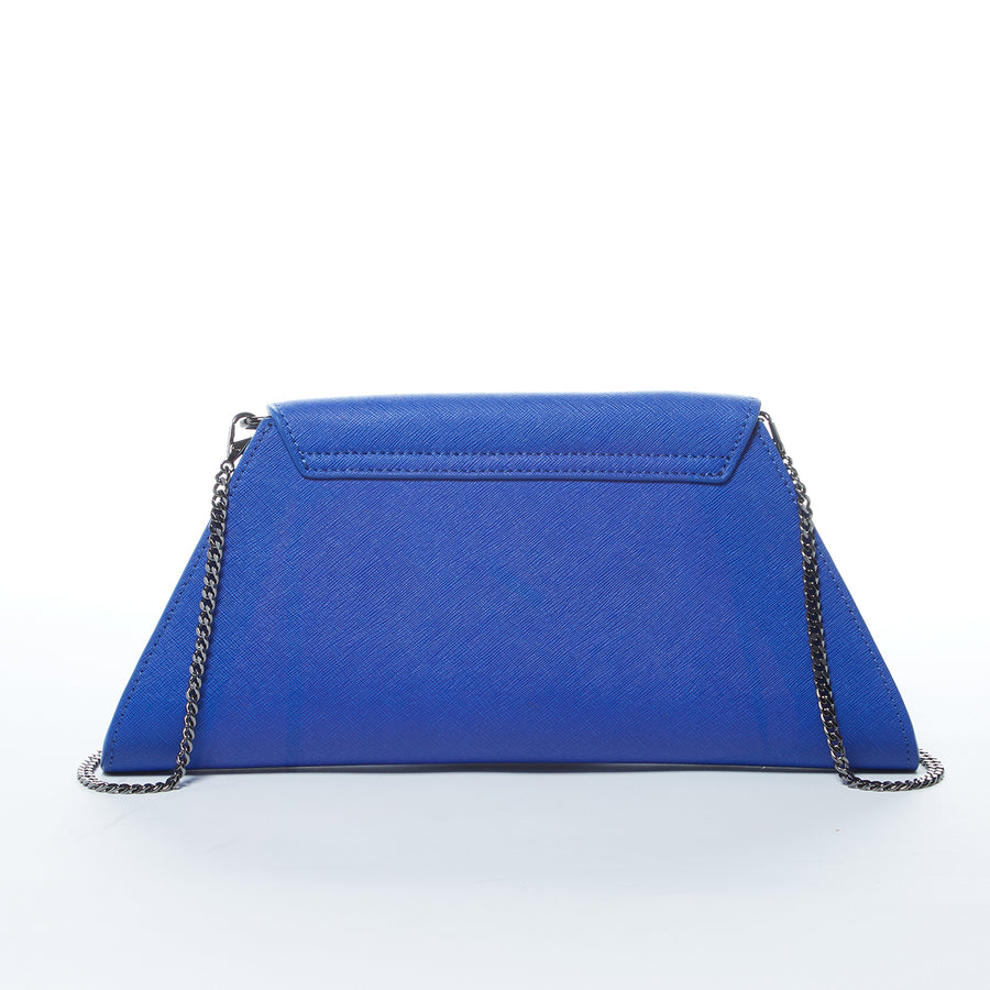 Royal Blue Chain Purse | SUSU Handbags