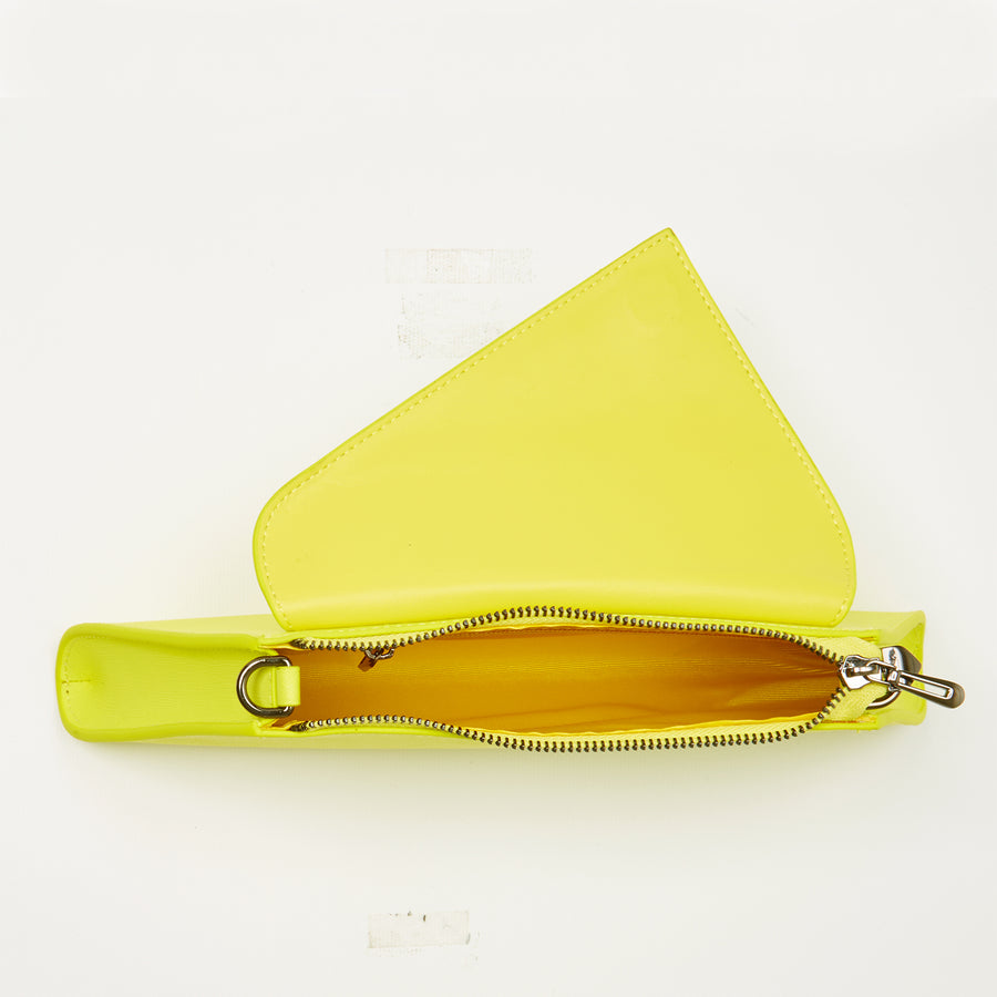 neon yellow clutch purse | SUSU Handbags