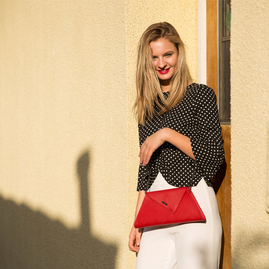 red evening bag | SUSU Handbags