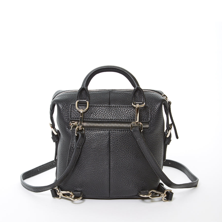 Black Convertible Backpack Purse | SUSU Handbags