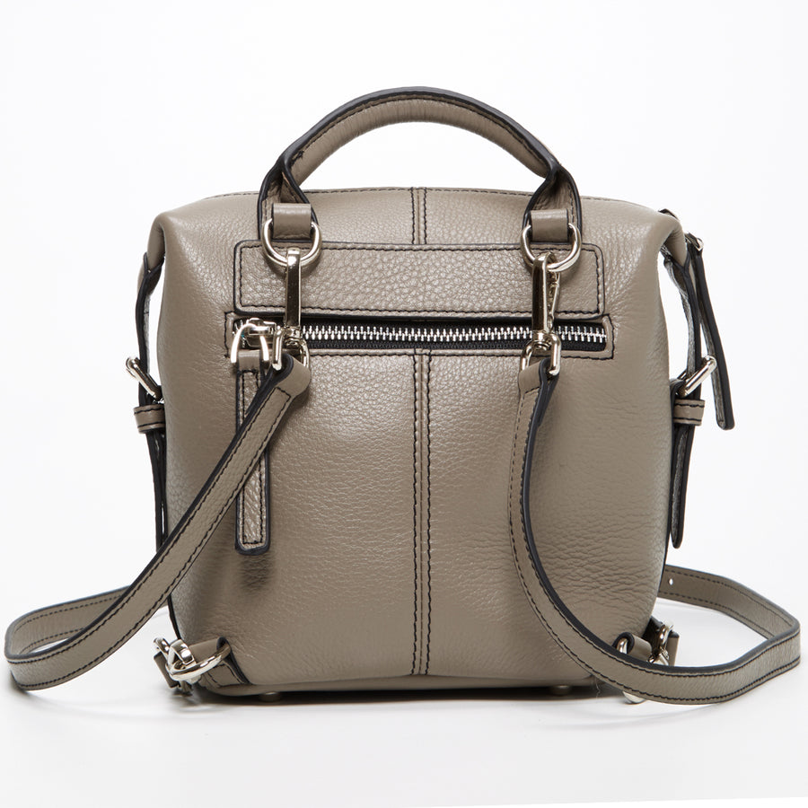 Grey Fashion Backpack | SUSU Handbags