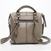 Ashley Leather Backpack Gray