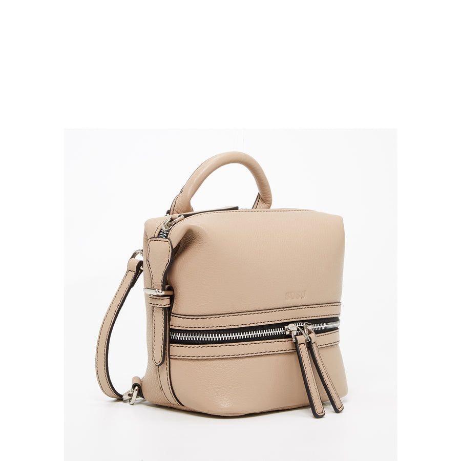 Leather trendy backpack | SUSU Handbags