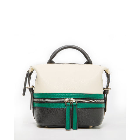 Ashley Mini Leather Convertible Backpack Multicolor