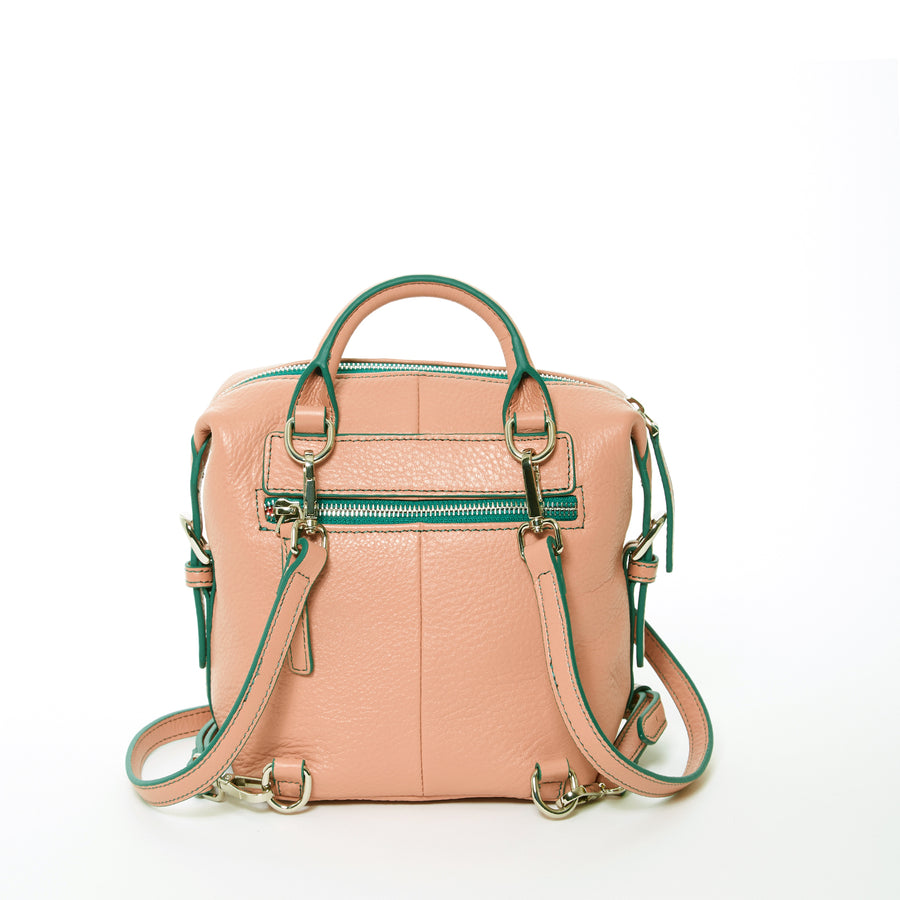 Pink Convertible Backpack | SUSU Handbags