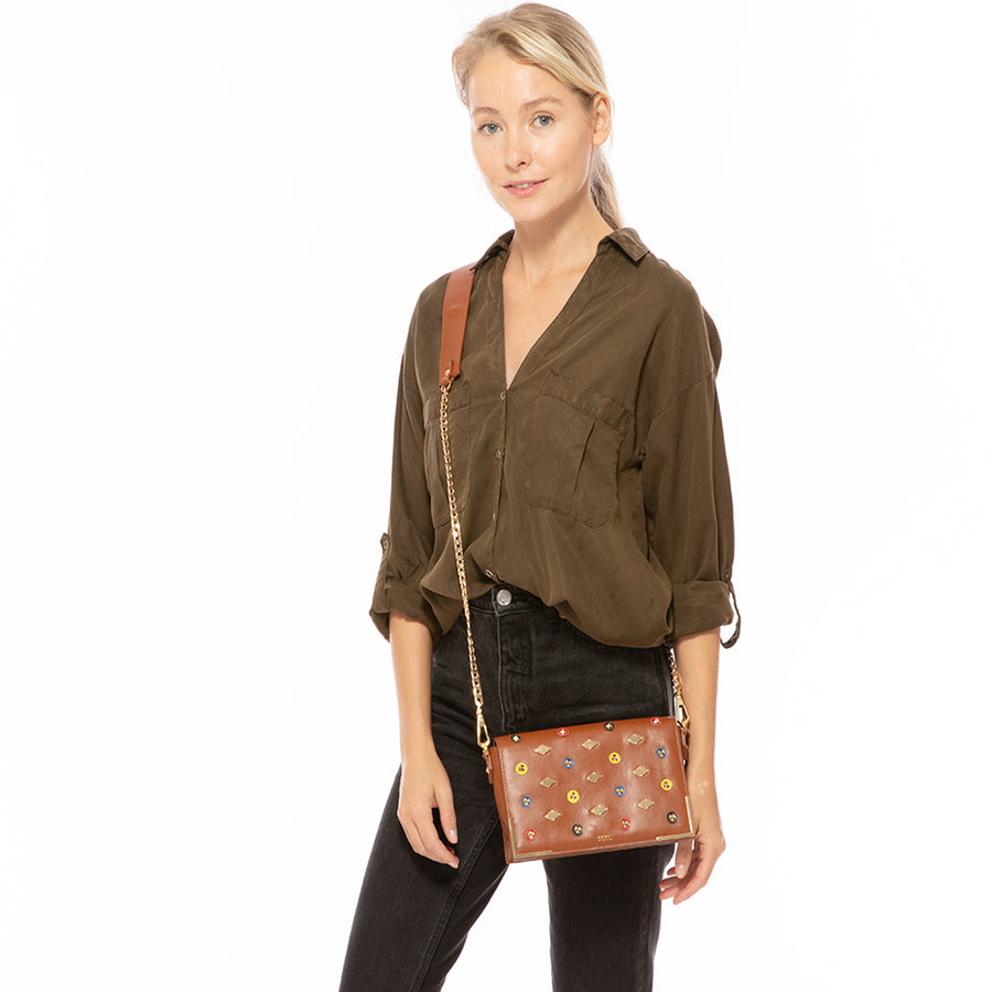 Luxury Leather Crossbody Bag