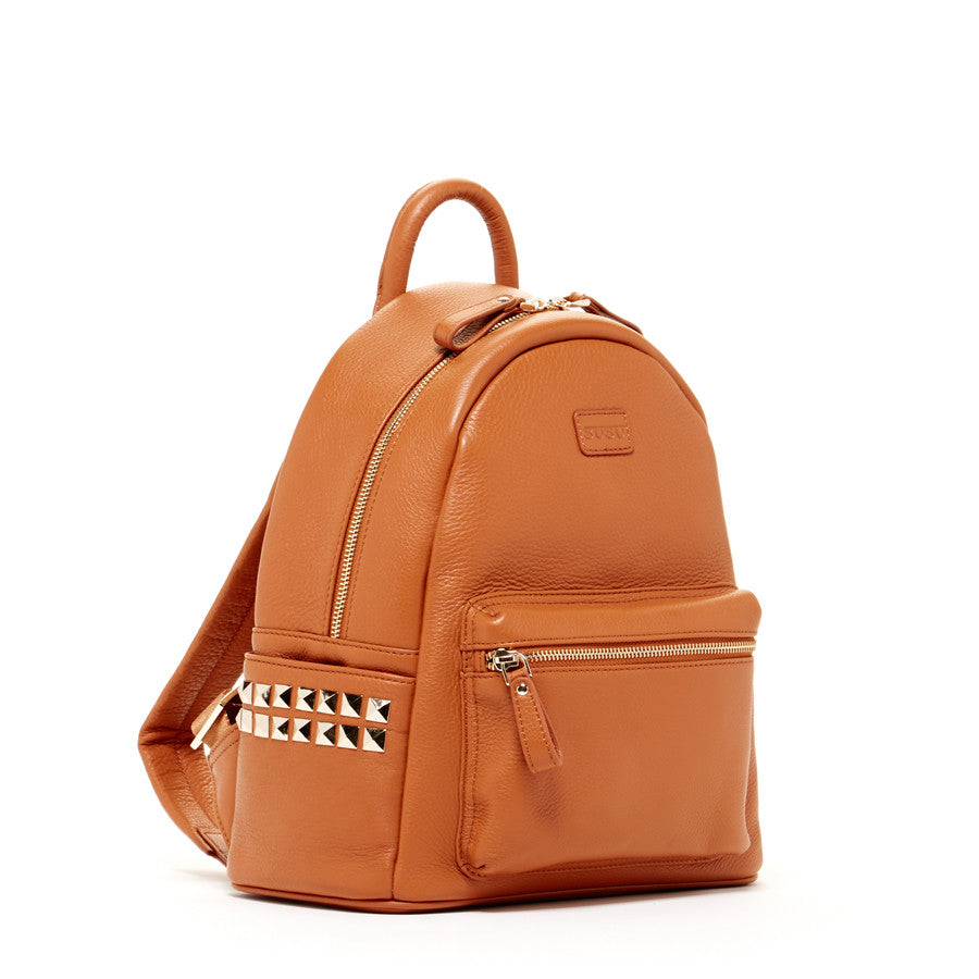 Amber Brown Fashion Backpack