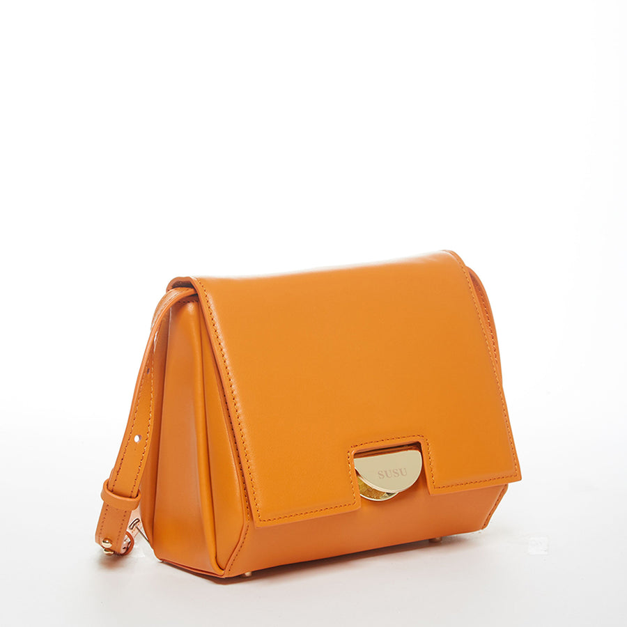 Burnt Orange Saddle Bag | SUSU Handbags