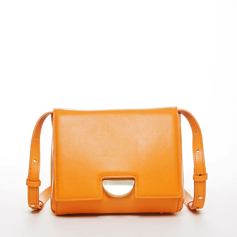 Orange Saddle Bag | SUSU Handbags