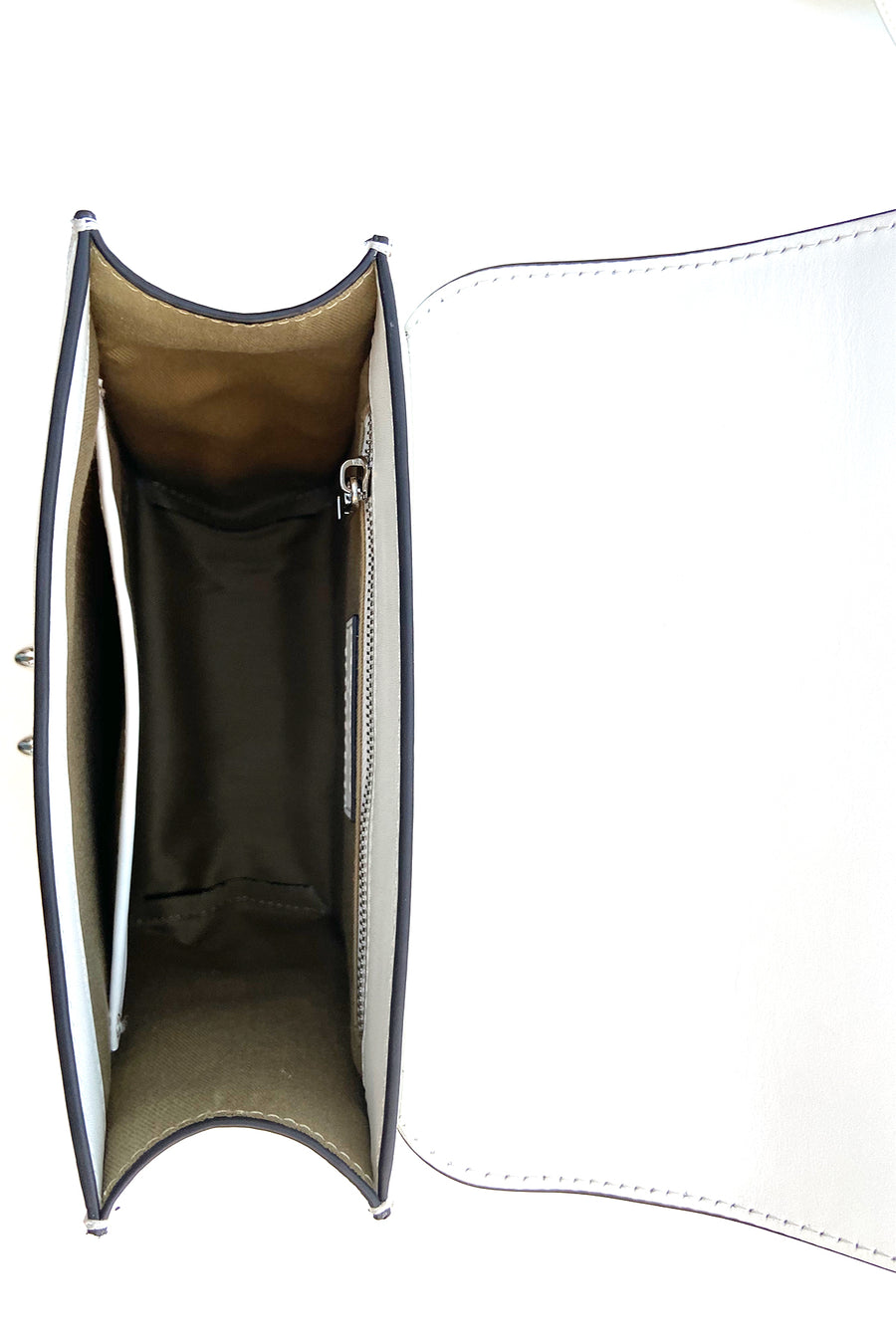 White leather purse | SUSU Handbags