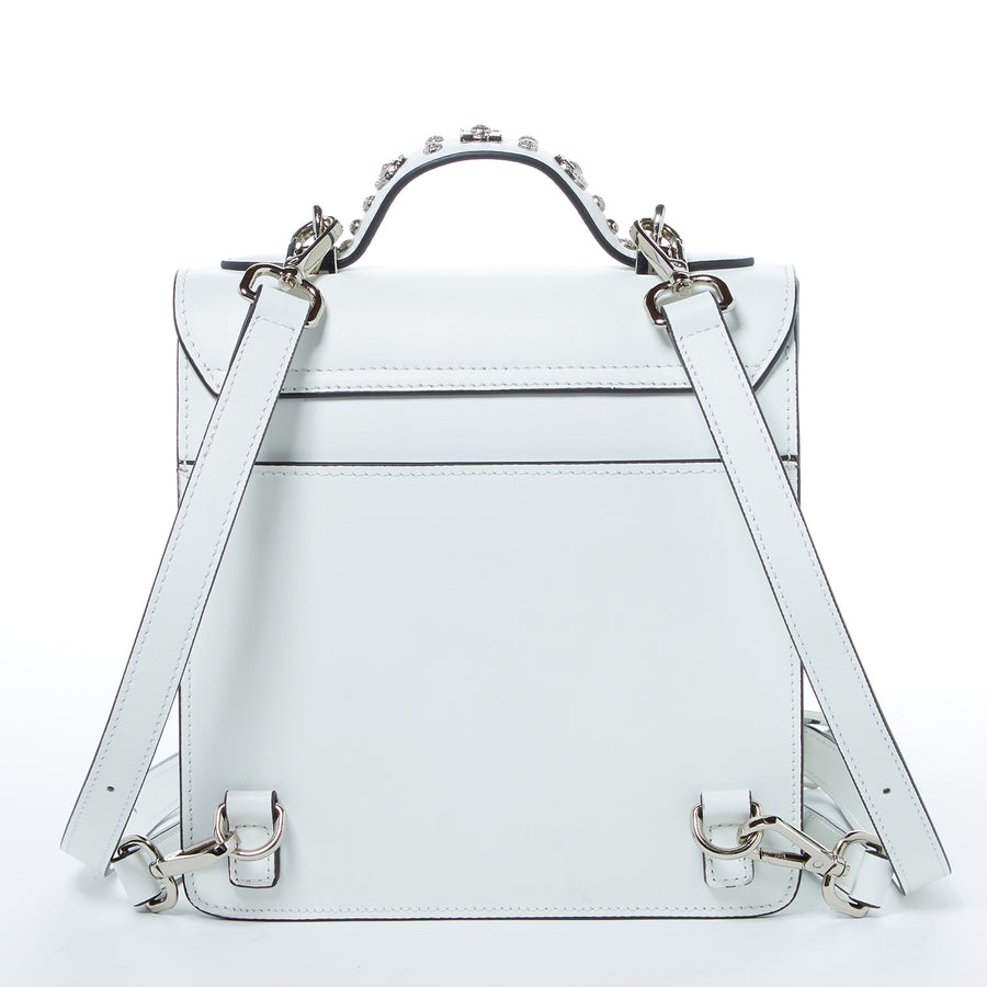 White Fashion Backpack | SUSU Handbags