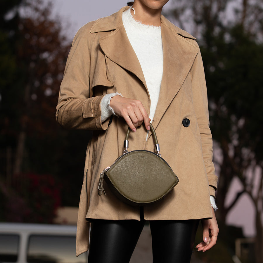 Army green Circle Bag | SUSU Handbags
