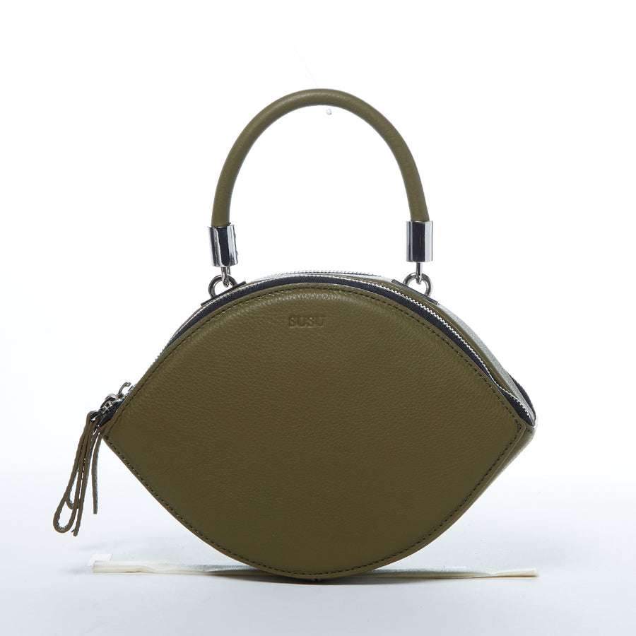 Kiss Olive Green Crossbody Bag