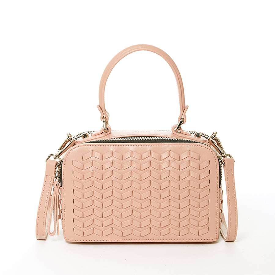 Light Pink Weave Bag