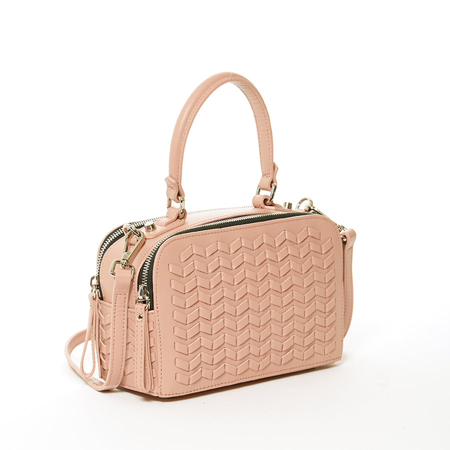 Luxury Weave Leather Purse