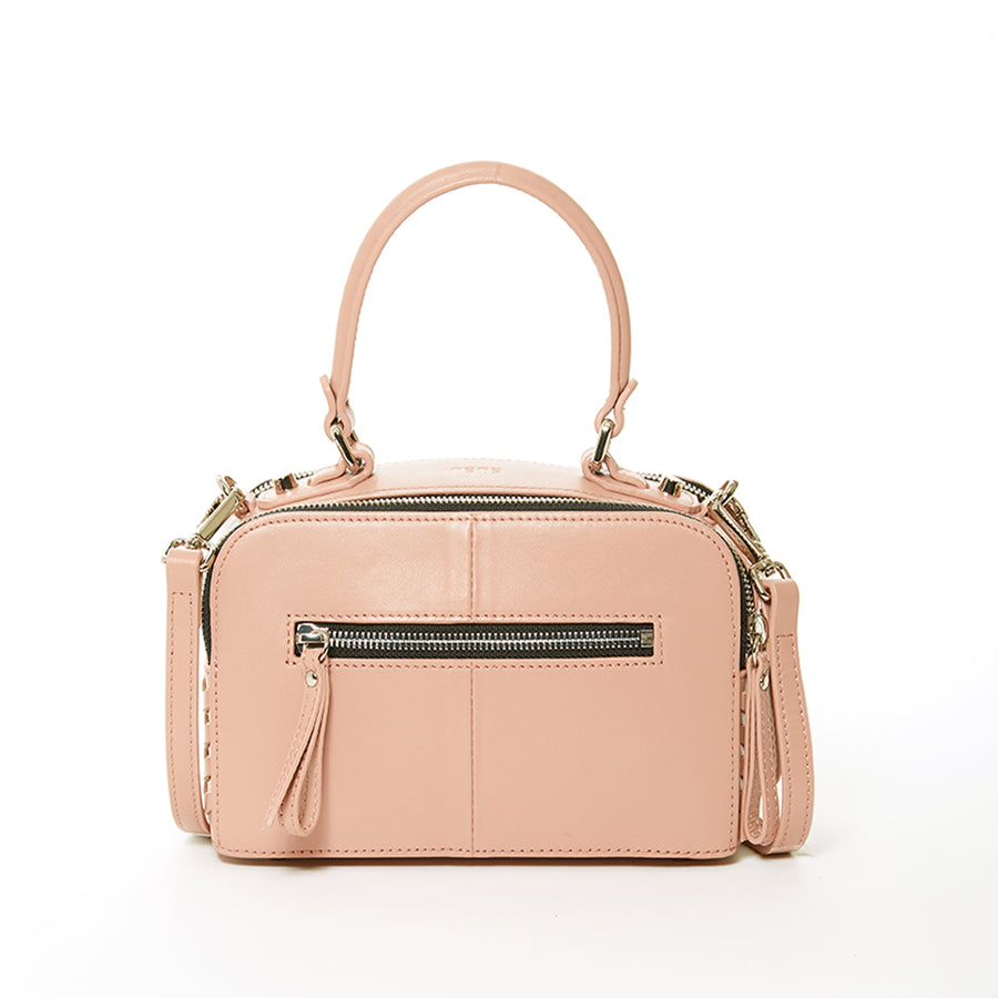 light pink leather crossbody