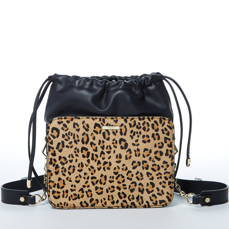 Leopard Print Bucket Bag | SUSU Handbags