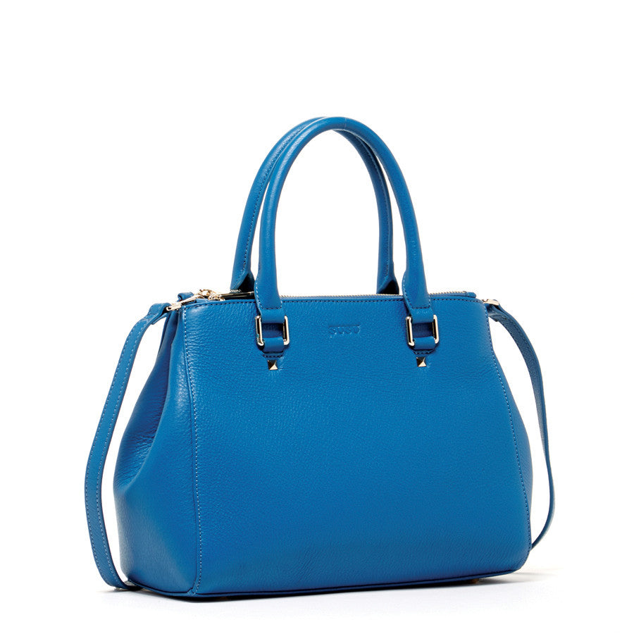 Blue Designer Tote Bag