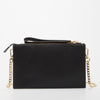 The Austin Crossbody Clutch Bag With Studs Black