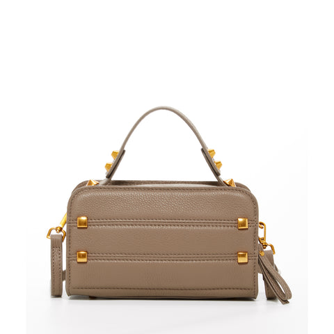 The Chicago Leather Crossbody Bag Mocha Brown