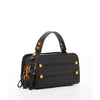 The Chicago Leather Crossbody Bag Black