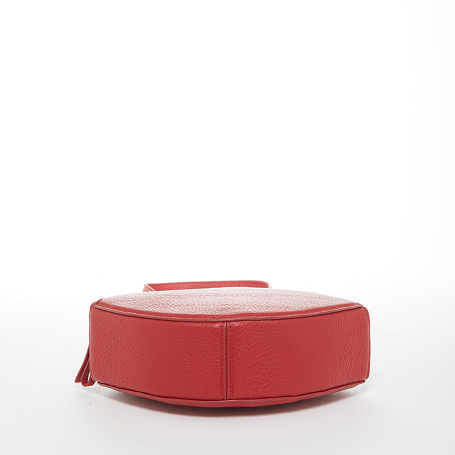 Red leather purse | SUSU Handbags