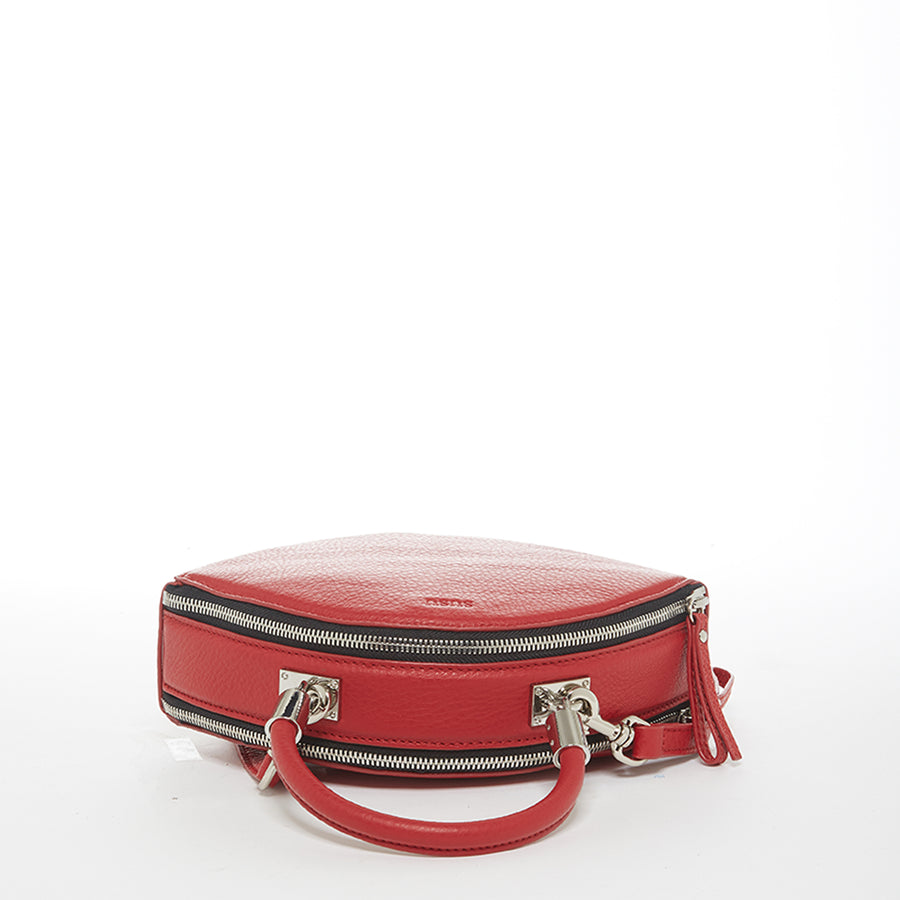 Red leather bag | SUSU Handbags