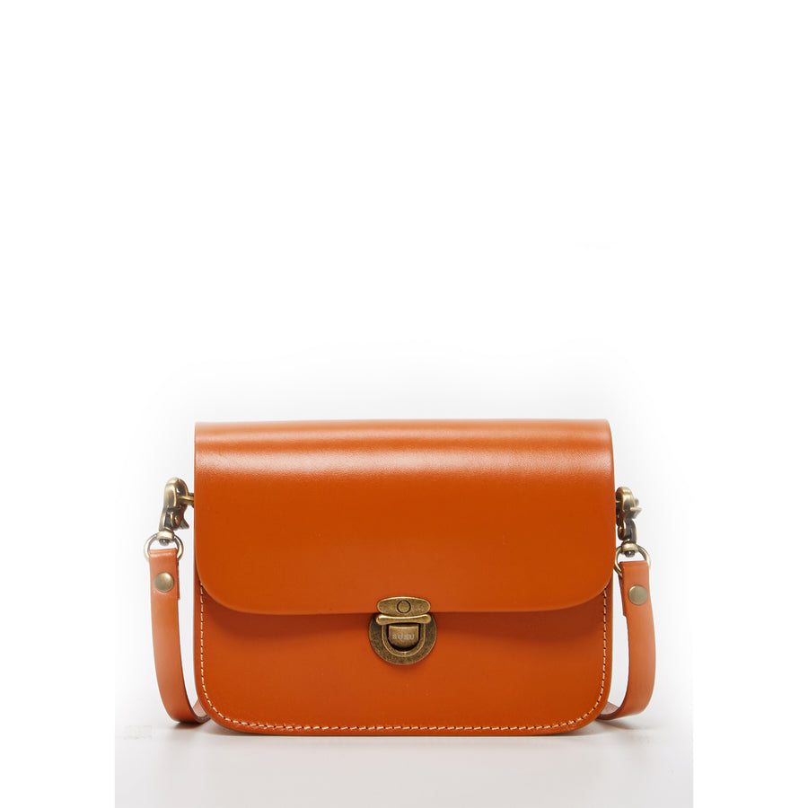 Vintage Inspired Orange Purse