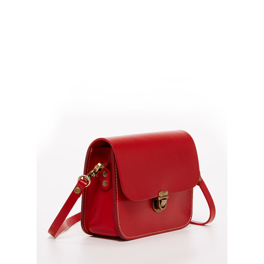Vintage Inspired Red Purse