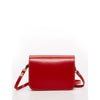 Nanah Vintage Style Leather Camera Bag Red