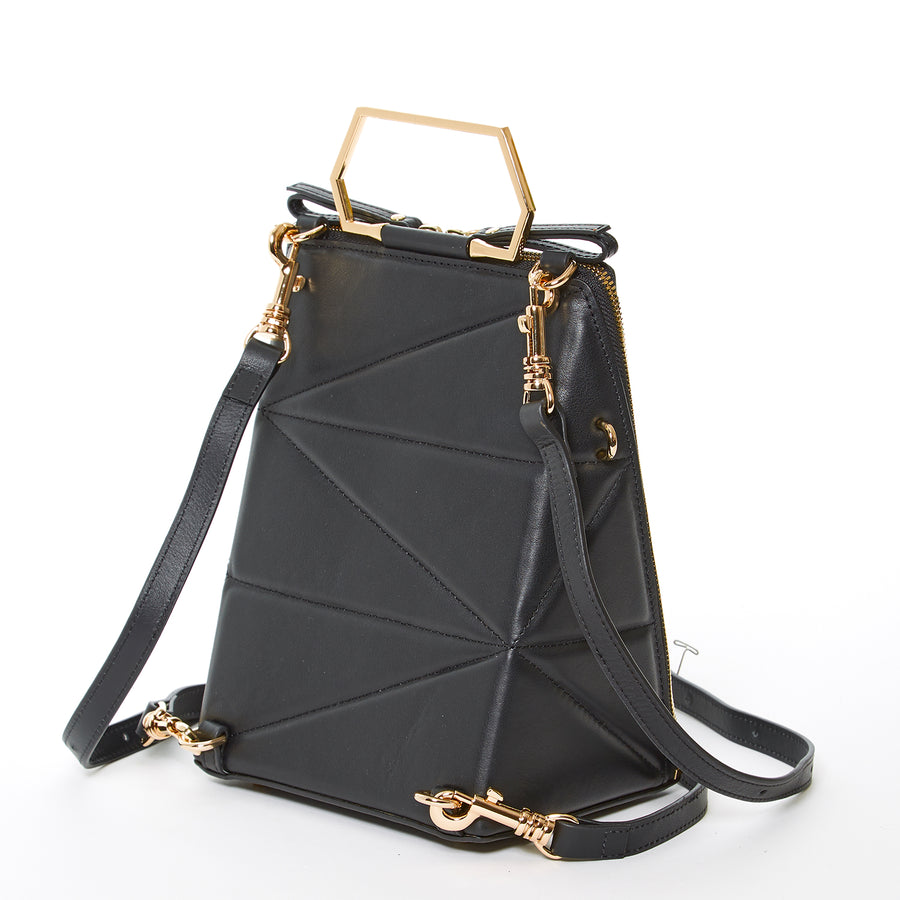 leather convertible backpack | SUSU Handbags