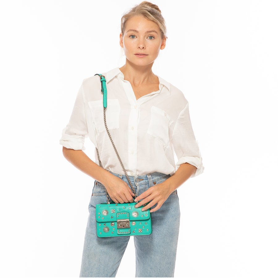 Green small Bag | SUSU Handbags