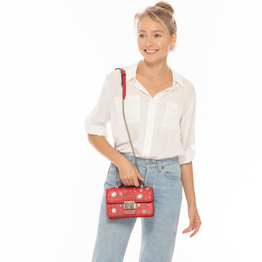 Red crossbody | SUSU Handbags