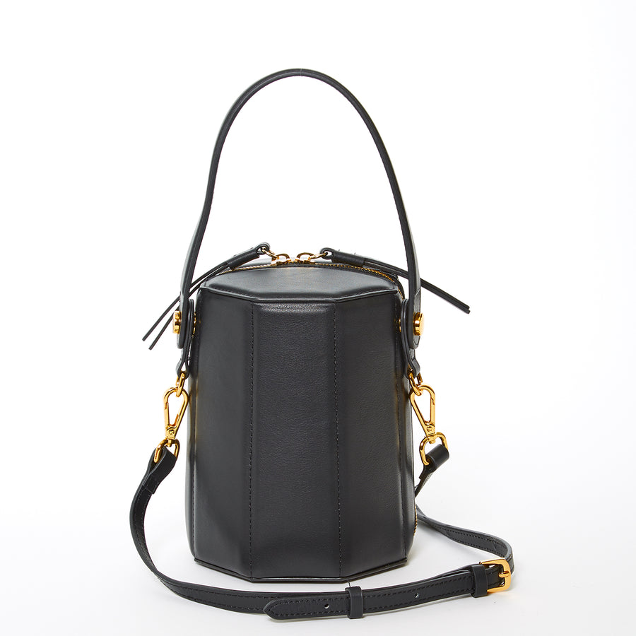 black leather crossbody | SUSU Handbags