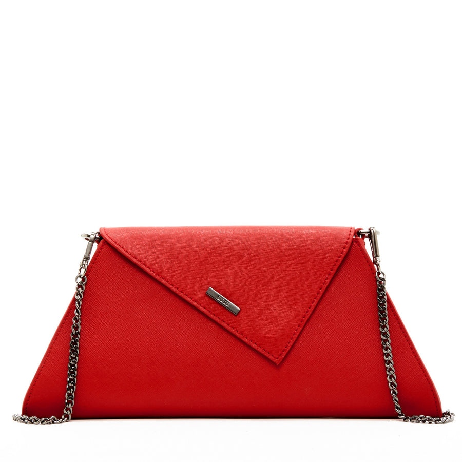 Red clutch | SUSU Handbags