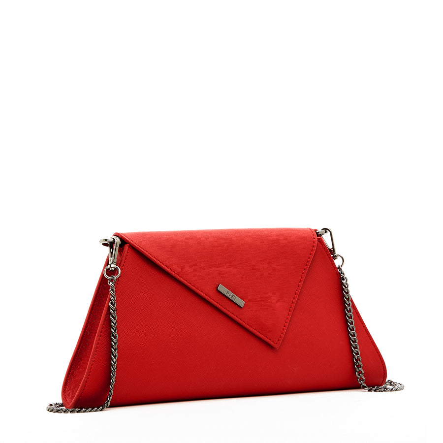 red clutch bag | SUSU Handbags