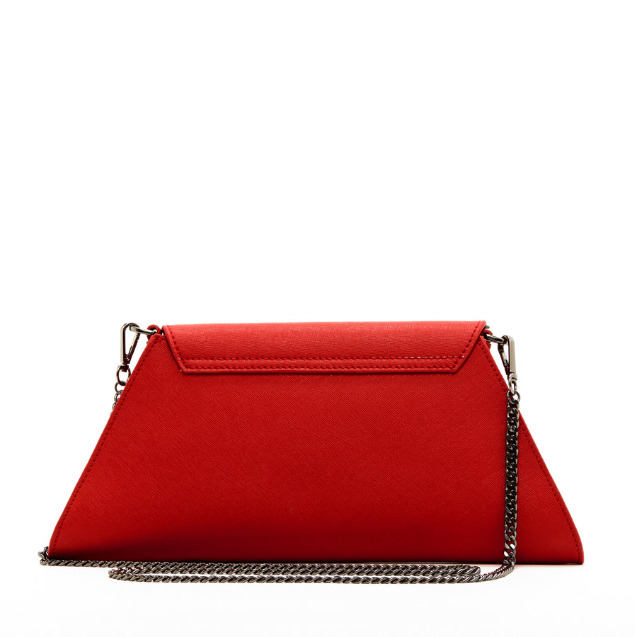 red clutch purse evening | SUSU Handbags