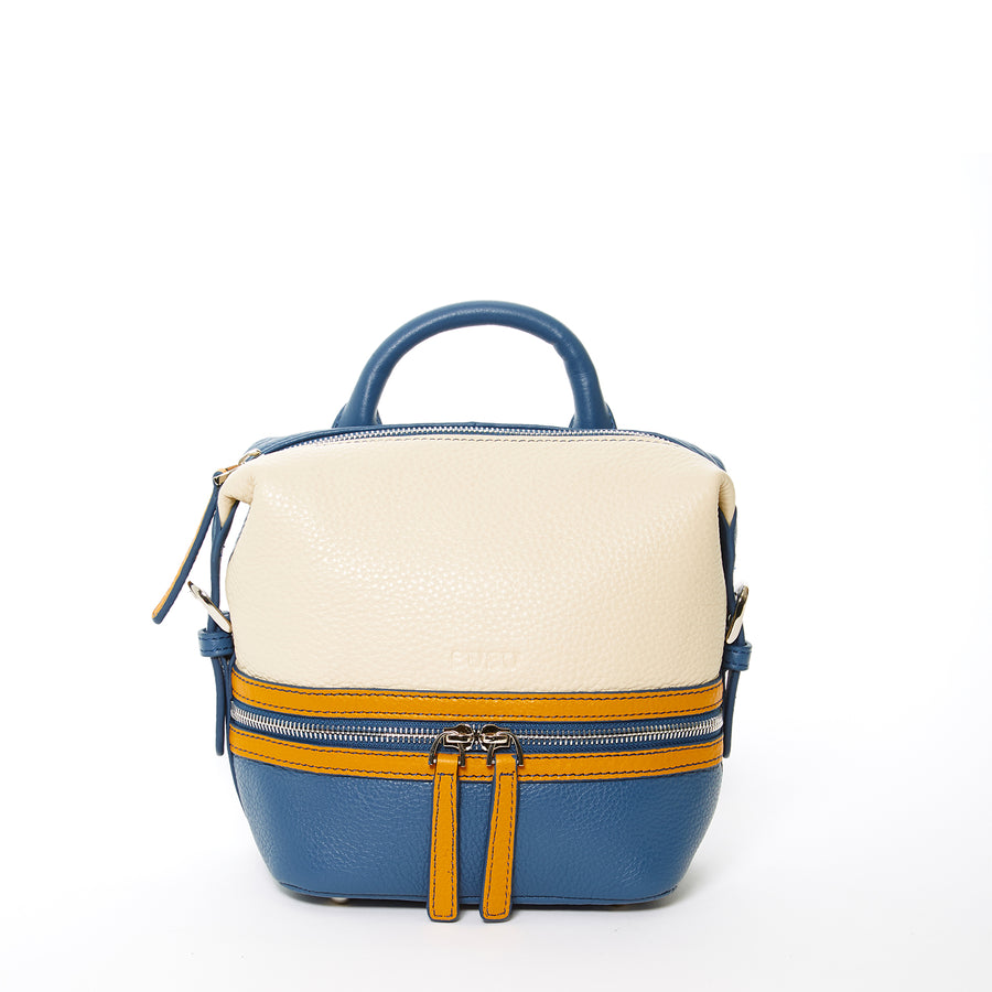 Off white leather backpack | SUSU Handbags