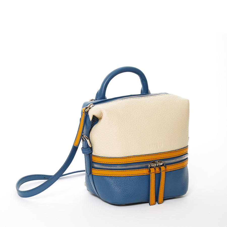 Multicolor Luxury Leather Backpack