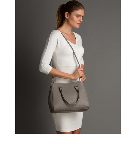 Chloe - Leather Satchel Tote Bag
