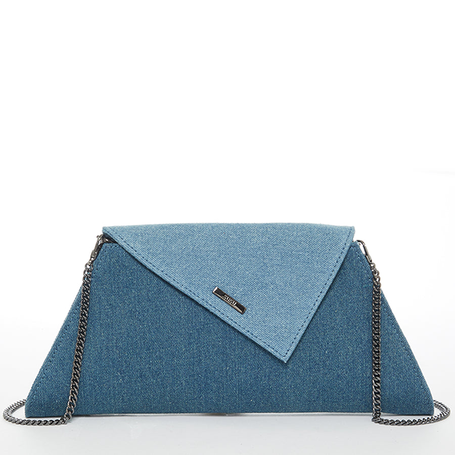 Two Tone Denim Purse | SUSU Handbags