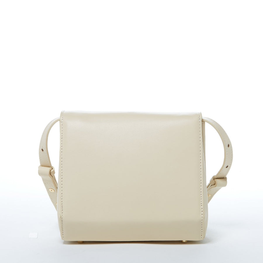 Off White Crossbody Saddlebag | SUSU Handbags