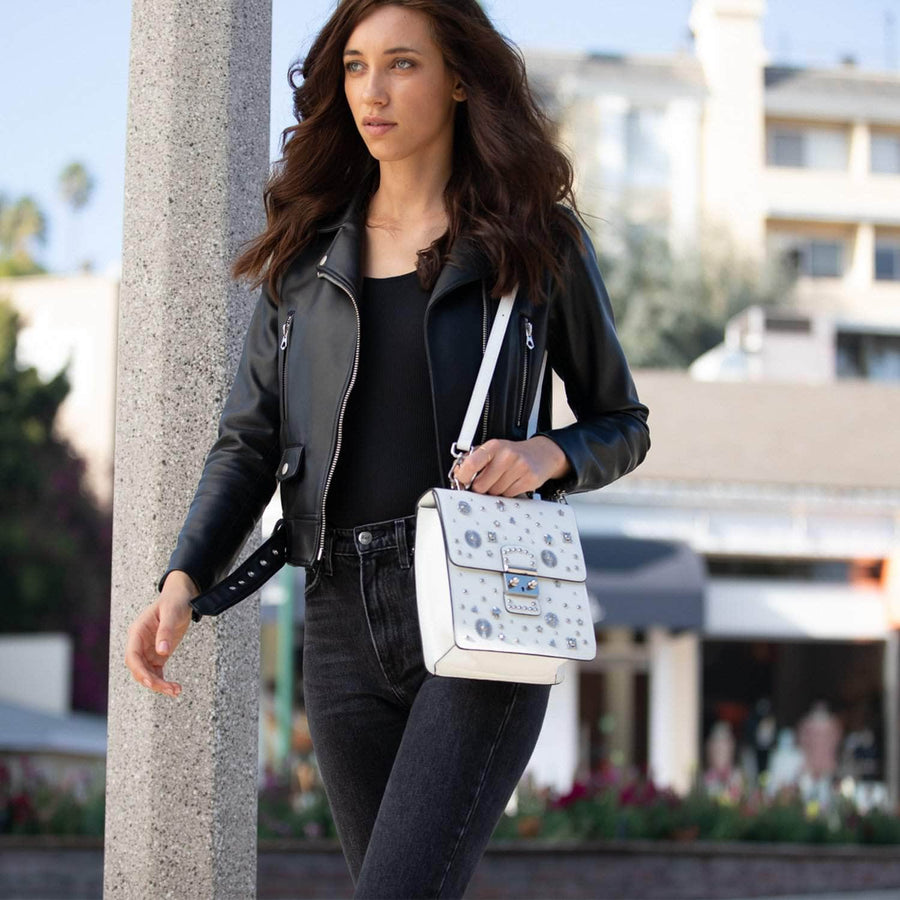 Convertible Leather Backpack | SUSU Handbags