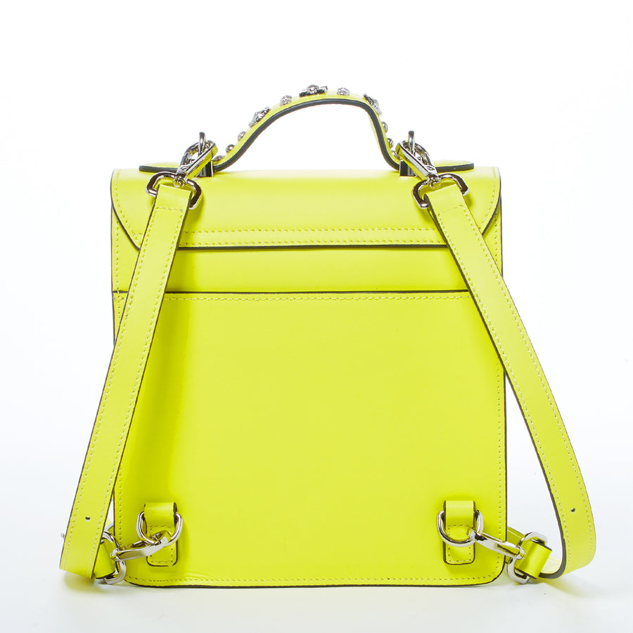 Bright Yellow Convertible Backpack | SUSU Handbags